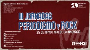PANTALLA JORNADAS PERIO Y ROCK