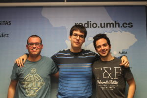Manuel Ricarte, Manu Martín-Albo y José Miguel Gracia en el programa MÁS ALLÁ DEL FÚTBOL