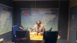 Luis Alfonso García Aragonés en el Programa VerdeOcreAmarillo. 4 de octubre