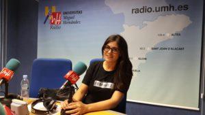"""María Amparo Calabuig en el programa """"Iguales pero diferentes"""""""