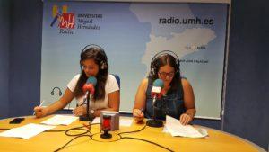 Noelia Espinosa y Susi Niñoles en INFORMATIVOS UMH