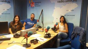 Cristina, Cristian y Thais son los componentes del Programa GALLINERO