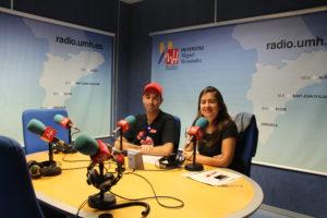 "Sergio Murillo, Paula Vera Pérez ""Súbete a la Radio UMH"""