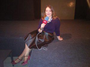 Sonia Díaz en el programa ¿Qué me pongo?