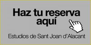 Haz tu reserva en Sant Joan d'Alacant aquí